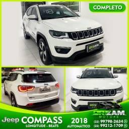 Título do anúncio: Jeep Compass Longitude 2018