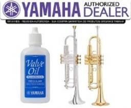 Oleo Lubrificante Pisto Yamaha Valve Oil Synthetic Vintage na Loja Cheiro de Música