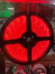 Fita led vermelho 5m estar 60 reais novo