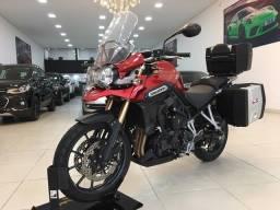 Título do anúncio: Tiger 1200 explore 2015 20k rodas aceito troca