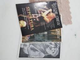 Lote de revistas Roadie Crew