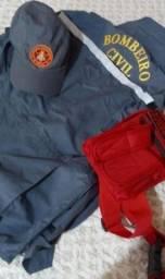 Título do anúncio: Roupa de bombeiro civil