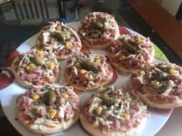 Título do anúncio: Mini pizza - Trabalhamos com encomenda