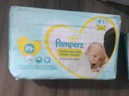 Fralda Pampers Premium Care RN Plus - 36 unidades