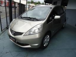 Honda new fit lx 1.4 flex 4p ano 2010 dourado