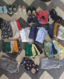 Lote de roupas para crianças de 0 a 12 meses