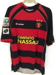 Título do anúncio: Camisa Sport Recife Libertadores de jogo