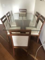 Mesa de Jantar Retangular 6 Lugares