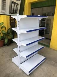 Título do anúncio: Prateleiras/ gôndolas supermercados - produto a partir de r$ 999,00