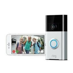 Campainha Wi-fi Sem Fio Ring Video Doorbell