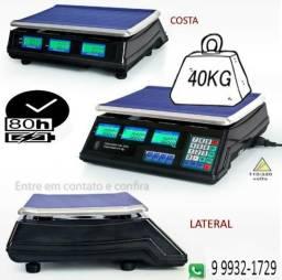Balança eletrônica digital 40kg nova na caixa e com garantia