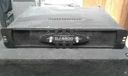 Amplificador De Potência DJ-2200 - Studio R Usada