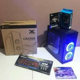 CPU Gamer Intel Core i5+8GB Ram+SSD 120GB+GTX 750ti+HD 500GB+Jogos+Wi-Fi+Entrega