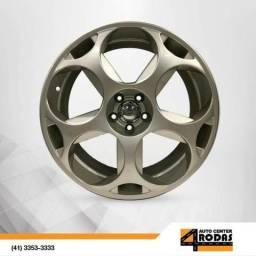 Roda ARO 18 5X100 Lamborghini Prata