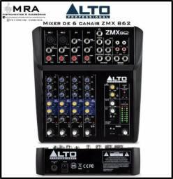 Mixer Compacto Alto Professional 06 canais (Novo / Promoção)