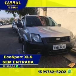 Ecosport XLS 2007 Completo Sem Entrada