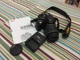 Câmera profissional Nikon D 3100