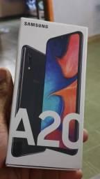 Samsung a20 na cx com nota