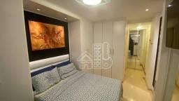 Apartamento com 2 dormitórios à venda, 82 m² por R$ 680.000,00 - Icaraí - Niterói/RJ