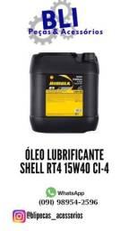 Oleo do motor Shell 15W40 RT4X = 270,00