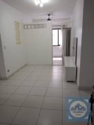Apartamento com 1 dormitório para alugar, 53 m² por R$ 1.300,00/mês - Tupi - Praia Grande/