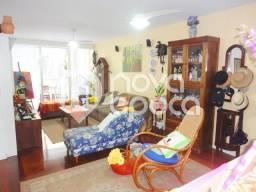 Apartamento à venda com 3 dormitórios em Flamengo, Rio de janeiro cod:FL3AP16297