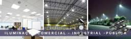 Iluminação Indústrial, comercial e pública
