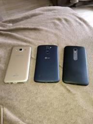 Vendo 3 celulares usados