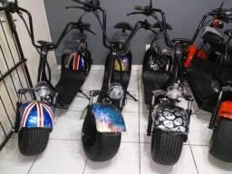 Scooter Elétrica Harley - Citycoco - Moto Elétrica - 1500w 20ah