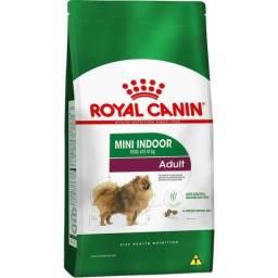 Ração Royal Canin Mini Indoor Adult para Cães Adultos de Raças p com 10 Meses ou mais