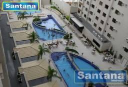Apartamento à venda com 1 dormitórios em Turista i, Caldas novas cod:2906