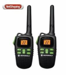 02 Rádio Motorola Walk Talk Talkabout Md200 Ate 32 Km