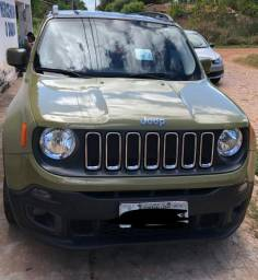 Jeep Renegade verde - 2016
