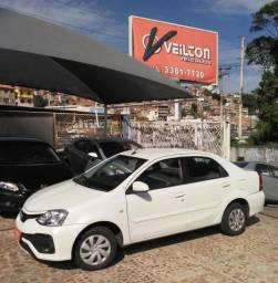Etios 2018 1.5 Flex XS Sedan Branco Unico Dono - 2018
