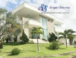 Casa à venda no Alphaville Fortaleza com 5 suítes piscina privativa