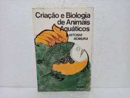 Livro Criação E Biologia De Animais Aquáticos Hitoshi Nomura