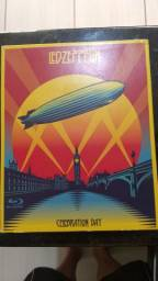 Box Led Zeppelin Celebration Day 2 Cds e + 1 Blu Ray