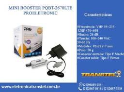 Título do anúncio: Mini Booster PQBT-2670LTE - Proeletronic
