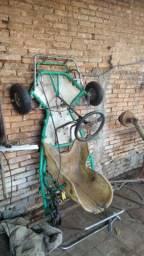 Chassi kart Riomar com eixo