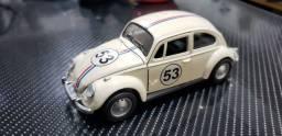 Miniatura carrinho Fusca Herbie