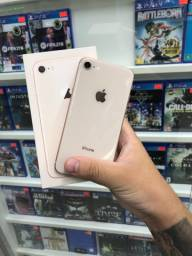 IPhone 8 Gold impecável// chama no Whats