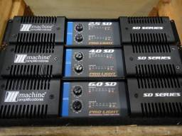 Potencia amplificador com defeito