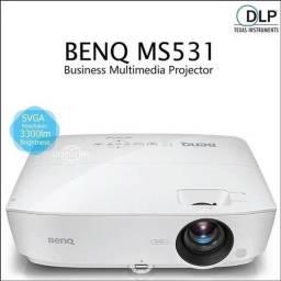 Projetor Benq Novo Ms531 3300 Lumens 2 Hdmi 3D 300 Pol Garantia 1 Ano Nfe