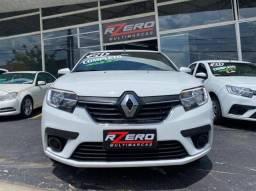 Renault Logan 2020 Completo Zen 1.6 Flex Revisado 29.000 Km Multi Mídia