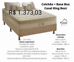 COLCHÃO +BASE