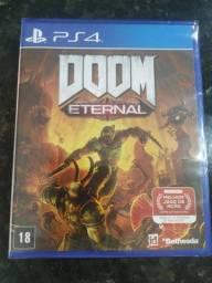 Doom Eternal novo e lacrado Playstation 4
