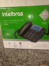 Telefone celular fixo 3G Intelbras com vivavoz
