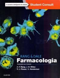 Livro Farmacologia, Rang & Dale, 8 edição. Área da saúde, como medicina etc.