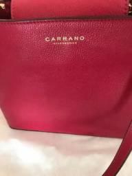 Vendo bolsa Marca Carrano, couro legítimo, nova!!