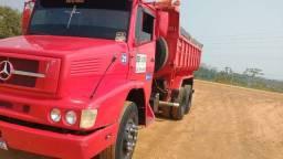 Título do anúncio: Caçamba truck Mercedes 1618